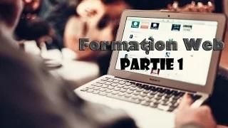 Formation en ligne en création des sites web